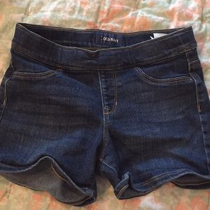 Old navy denim shorts L(10-12)